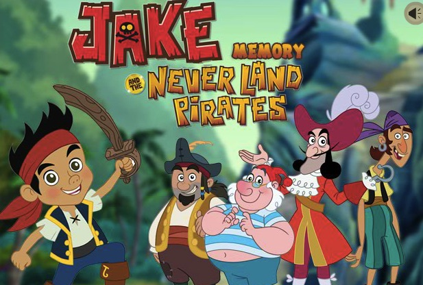 Jake and The Neverland Pirates Memory