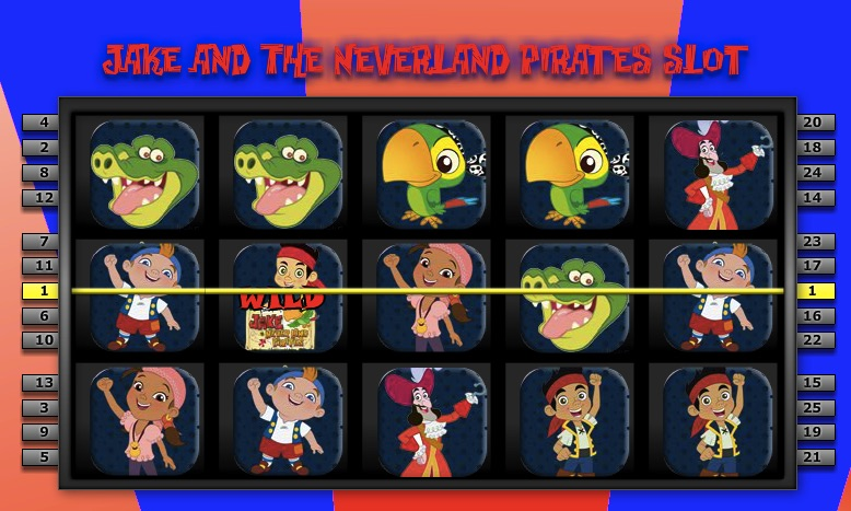 Jake and the Neverland Pirates Slots