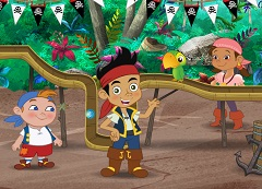 Jake And The Pirates Marble Raceway - Jake And The Neverland