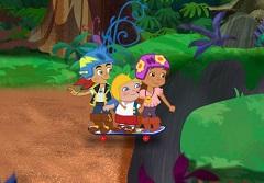 Jake and The Pirates Skate Escape