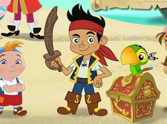 Jake and the Pirates Treasure Hunt
