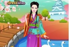 Japanese Princess Dress Up