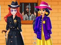 Jasmine and Ariel Detectives