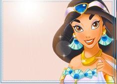 Jasmine in Blue Puzzle