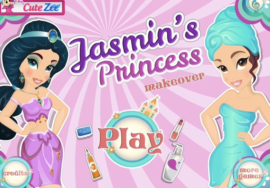 Jasmine Princess Makeover