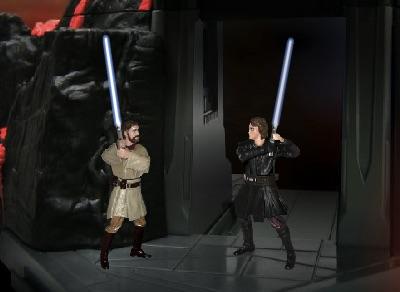 Jedi vs Jedi