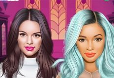 Jenner Sisters Matching Monster High
