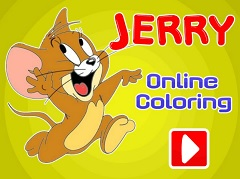 Jerry Online Coloring