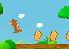 Jerry Run and Eat Cheese