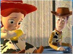 Jessie and Woody Puzzle
