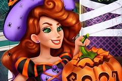 Jessie Halloween Pumpkin Carving