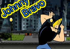 Johnny Bravo Running Man