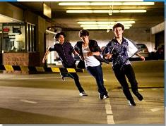 Jonas Brothers Running Puzzle