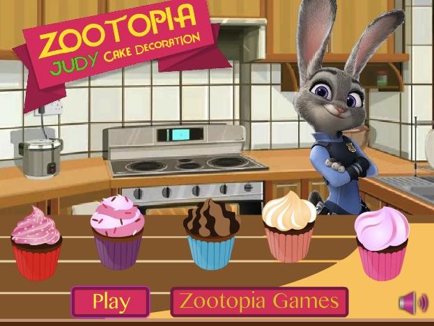Judy Hopps Cake Decoration