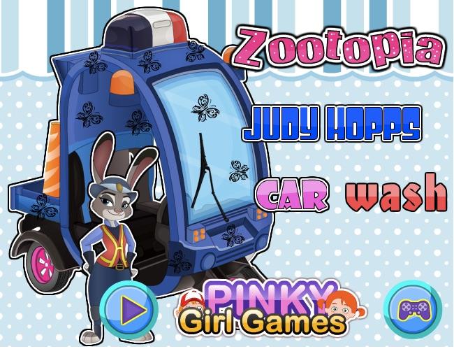 Judy Hopps Car Wash