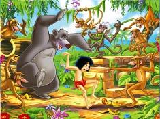 Jungle Book Dancing Friends Puzzle