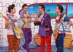 Junior Express Characters Puzzle