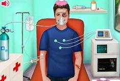 Justin in Hospital