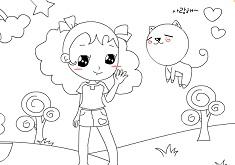 Katy and Kitty
