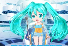 Kawaii Hatsune Miku Dress Up