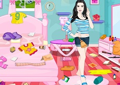 Kendal Jenner Room Cleaning