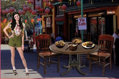 Kendall Jenner in Chinatown