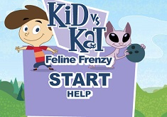 Kid vs Kat Feline Frenzy
