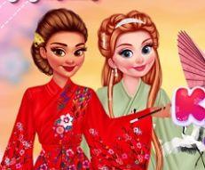 Kimono Designer Princess Games