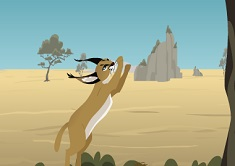 Kratt Brothers Caracal Leap
