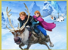Kristoff and Anna Puzzle