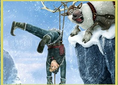 Kristoff and Sven Funny Puzzle