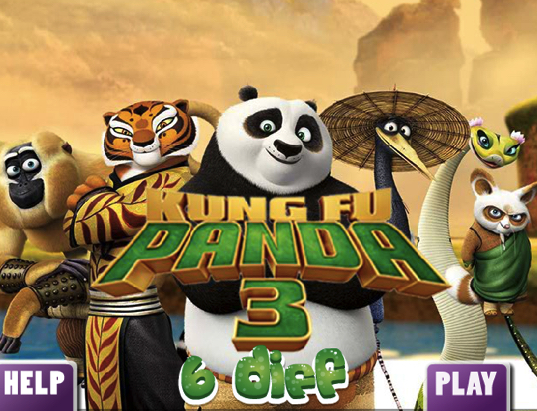Kung Fu Panda 3 6 Differences