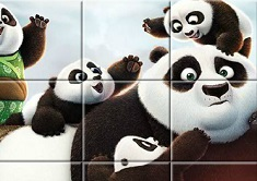 Kung Fu Panda Adventure Puzzle