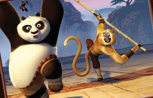 Kung Fu Panda Coloring