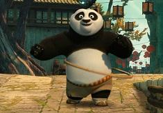 Kung Fu Panda Hula Challenge