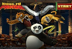 Kung Fu Panda Search the Words