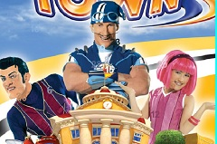 Lazy Town Hidden Numbers