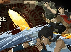 Legend of Korra Ultimate Book Three