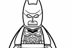 Lego Batman Coloring