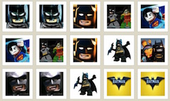 Lego Batman Movie Memory