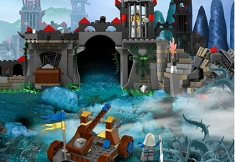 Lego Castle and the Dragon