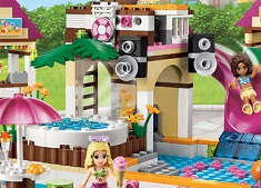 Lego Friends at Aqua Park