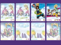 Lego Friends Winter Matching