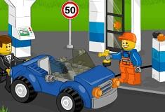 Lego Gas Station