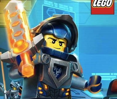 Lego Nexo Knight Puzzle
