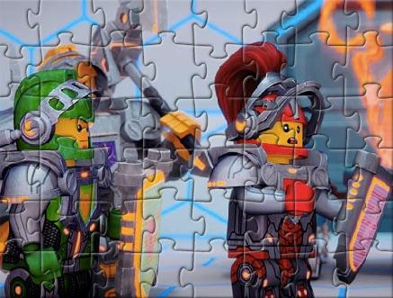Lego Nexo Puzzle