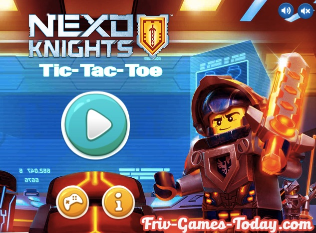 Lego Nexo Tic Tac Toe