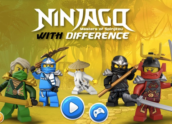 LEGO NINJAGO DIFFERENCES - LEGO GAMES