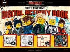 Lego Ninjago Digital Activity Look