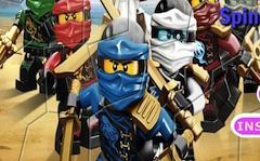 Lego Ninjago Spin Puzzle